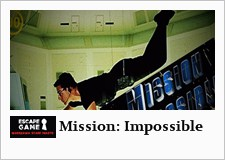 escape room w warszawie - mission impossible