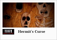 escape room in warsaw - the hermit's curse