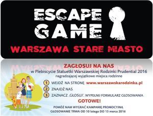 Escape Game Warszawa - miejsce przyjazne rodzinie