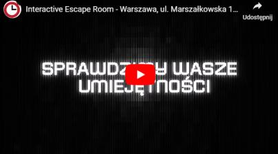 interactice film escape room